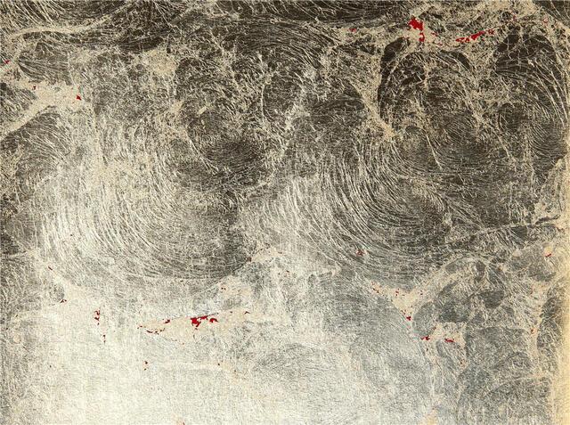 金箔壁クロス 金赤 1m切売 ,内装輸入壁紙,WALLCOVERING,インテリア用品