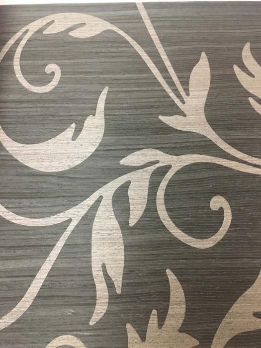 木材壁クロス 039花 1m切売 ,内装輸入壁紙,WALLCOVERING,インテリア用品