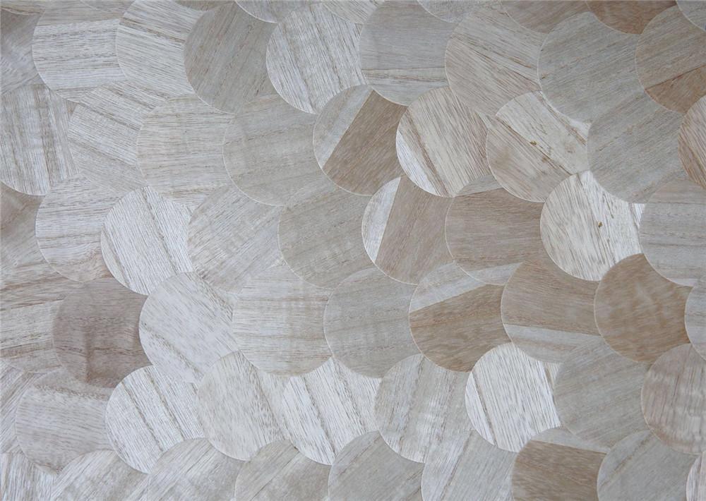 木材壁クロス 009 丸 1m切売 ,内装輸入壁紙,WALLCOVERING,インテリア用品