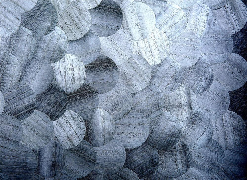 木材壁クロス 008 丸 1m切売 ,内装輸入壁紙,WALLCOVERING,インテリア用品
