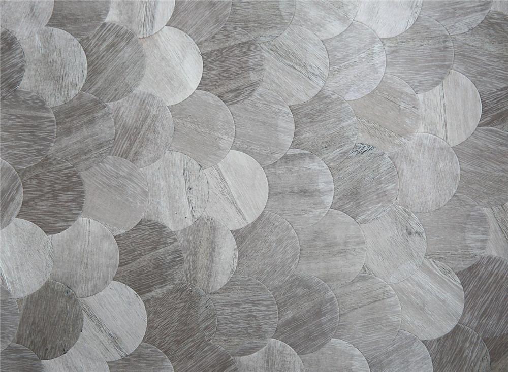 木材壁クロス 007 丸 1m切売 ,内装輸入壁紙,WALLCOVERING,インテリア用品