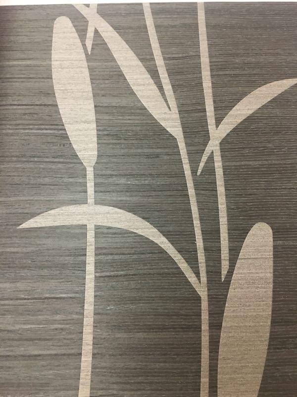 木材壁クロス 042 植物 1m切売 ,内装輸入壁紙,WALLCOVERING,インテリア用品