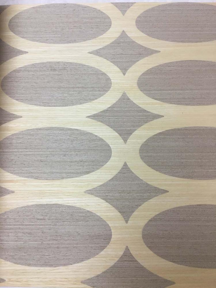 木材壁クロス 037 植物 1m切売 ,内装輸入壁紙,WALLCOVERING,インテリア用品