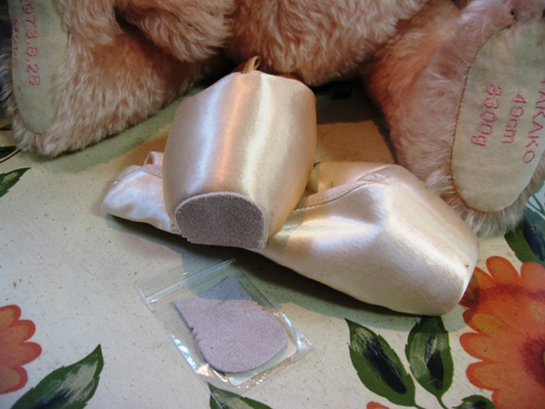 Pointe pad ( chacott ): 1 pair (2 pieces) 05P06may13