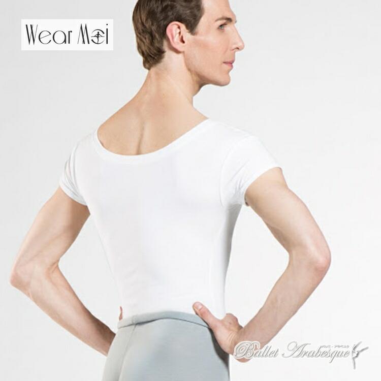 身体のラインを美しく見せる 素材の良さと優れた機能性 フランスのダンサーのブランドです \24日25日全商品P2倍 WearMoi ウェアモア Boys HAXO バレエ アクソ 1着でも送料無料 ボーイズ 送料無料 ボーイズバレエ 往復送料無料 Tシャツ 男の子