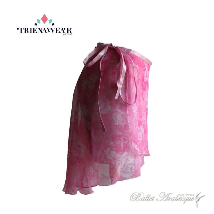 【Trienawear トゥリーナウェア】TR200-836 Delightフローラルバレエスカート【バレエスカート】