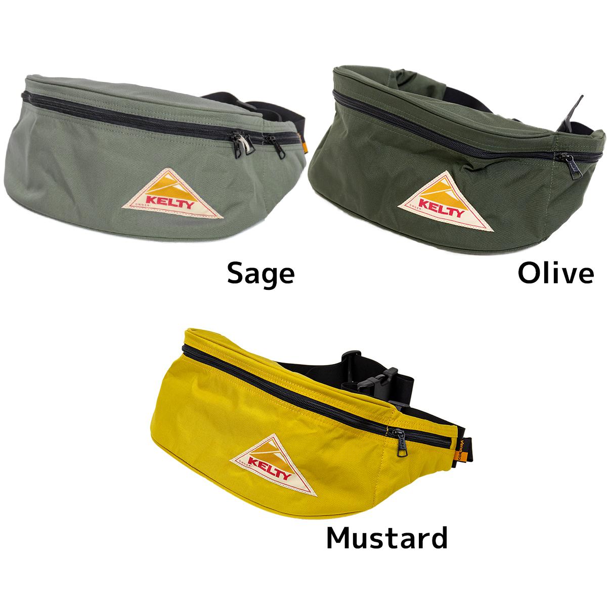 BUMBAG Compact Classic Blue Shoulder Bag