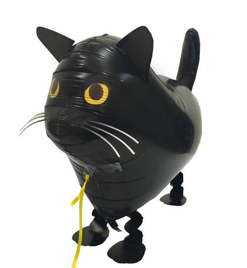 40%OFFの激安セール お散歩バルーンに黒猫ちゃんが仲間入り ハロウィンにもいいね お散歩黒猫 ヘリウムなし1個風船 バルーン 誕生日 パーティー 結婚式 プレゼント 開店祝い 飾りかわいい ふうせん キャラクター ギフト 人気ショップが最安値挑戦 誕生日会 ウェディング ヘリウムガス おしゃれ 記念日 バースデー クリスマス