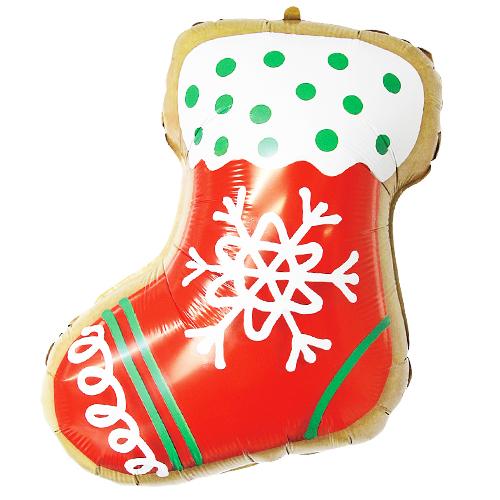 Stocking Cookies Film Balloon Season Christmas Balloons