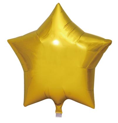 小さくても長く浮いちゃうんです アイブレックス15インチスター メタリックゴールド ヘリウムガス缶付風船 バルーン 誕生日 パーティー 結婚式 プレゼント 有名な 開店祝い ギフト ウェディング ヘリウムガス バースデー ふうせん 飾りかわいい キャラクター 商店 誕生日会 記念日 おしゃれ