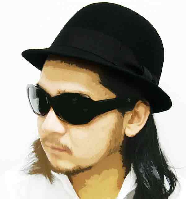 帽子完_【楽天市場】ウールフェルトダービーハット【SHAMROCK