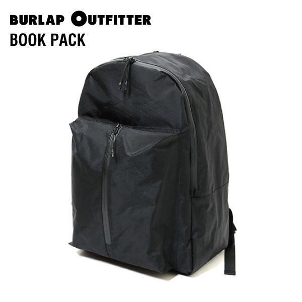 【送料無料】BURLAP OUTFITTER (バーラップアウトフィッター) BOOK PACK(ブックパック)軽量 UL 水に強い リュックサック バックパック