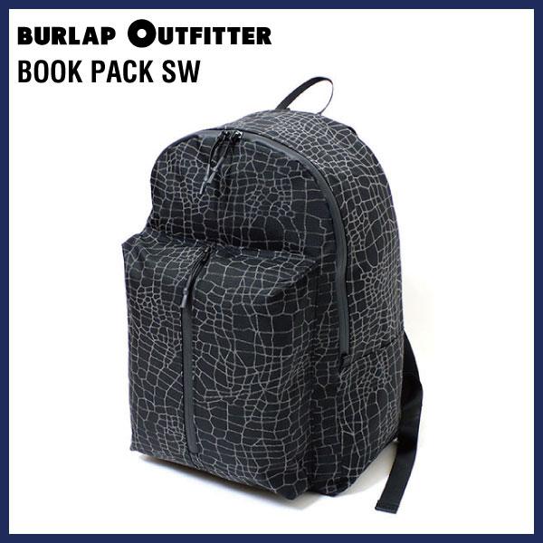 BURLAP OUTFITTER バーラップアウトフィッター BOOK PACK SW(ブックパックSW)リュックサック バックパック 通勤通学 自転車 アウトドア