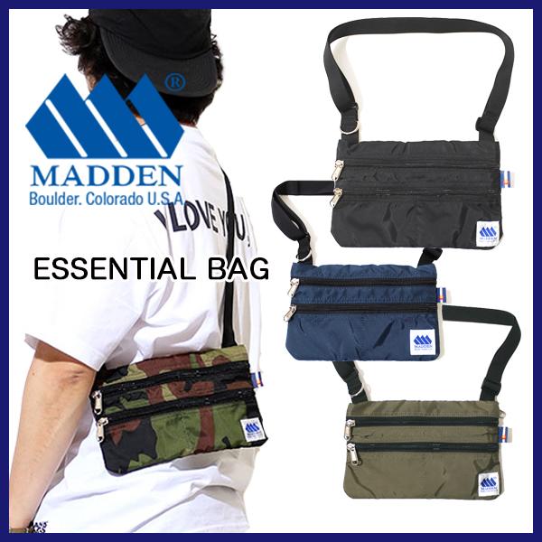 MADDEN メデン ESSENTIAL BAG  サコッシュ ショルダー バッグ タウンユース アウトドア CAMP FES キャンプ フェス