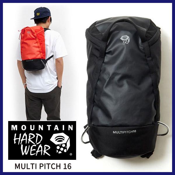 【送料無料】MOUNTAIN HARD WEAR マウンテンハードウェアMULTI PITCH 16 マルチピッチ16パックバックパック リュック リュックサック 16L