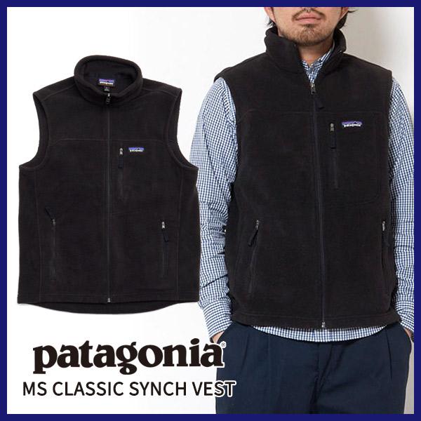 【正規取扱店】PATAGONIA パタゴニアMS CLASSIC SYNCH VEST メンズ・クラシック・シンチ・ベストポリエステル フリース アウトドア