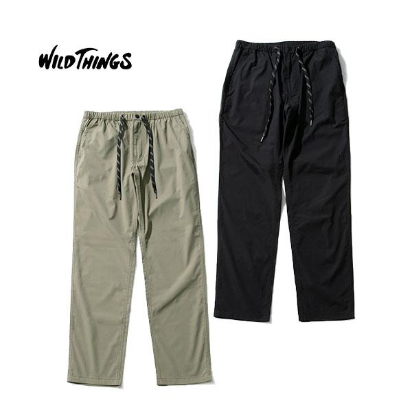 WILD THINGS ワイルドシングスMOTION EASY PANTS モーションイージーパンツ【2019SS新作】【送料無料】CAMP フェス アウトドアファッション パンツ クライミング Pliantex