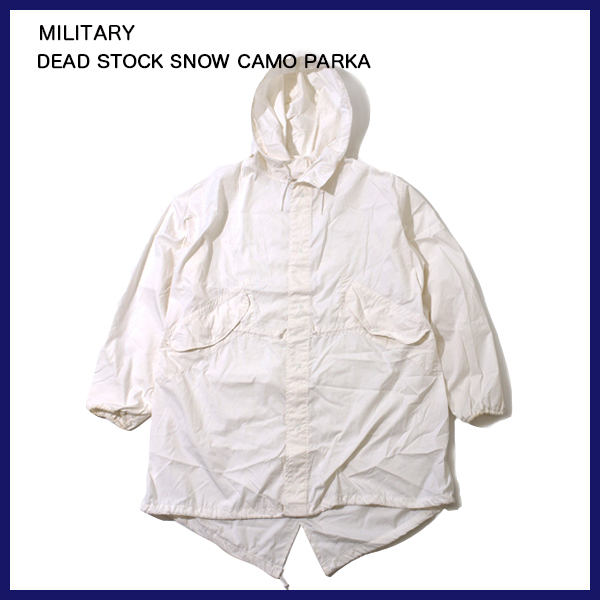 MILITARY カモパーカー ミリタリーDEAD デッドストック STOCK SNOW CAMO PARKA PARKA デッドストック スノ- カモパーカー, The Hatter:70929745 --- officewill.xsrv.jp
