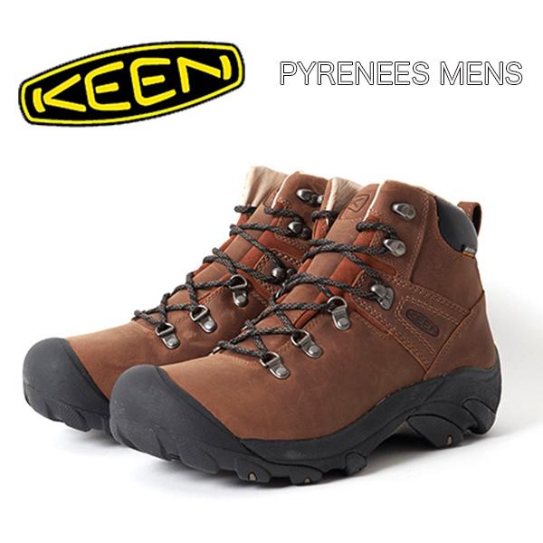 【送料無料】KEEN キーンPYRENEES MENS ピレニーズ メンズ SYRUP防水 ブーツ ハイク フェス FES CAMP キャンプ アウトドア タウンユース 雨でも安心!