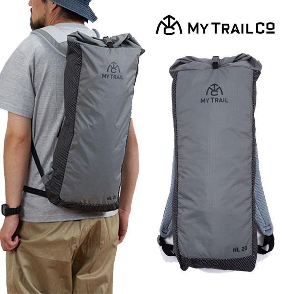 【送料無料】MY TRAIL CO. マイトレイルカンパニーBACKPACK HL 20L バックパックウルトラライト20L UL リュック ザック CAMP FES キャンプ フェス 登山 ハイキング トレッキング 軽量