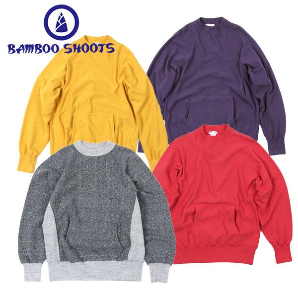 BAMBOO SHOOTS バンブーシュートRW MOCKNECK SWEAT RW モック ネック スウェット【送料無料】アウトドア CAMP キャンプ FES フェス アウトドアファッション スエット トレーナー 19FW