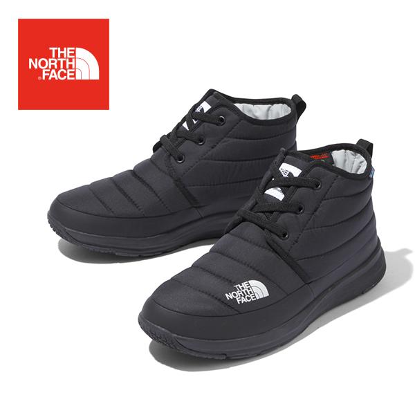 THE NORTH FACE ザ ノースフェイスNSE Traction Lite V WP Chukka ヌプシトラクションライトVウォータープルーフチャッカ(ユニセックス) シューズ ブラック 黒 メンズ レディース 靴 ナイロン 撥水 NF51986 TNF
