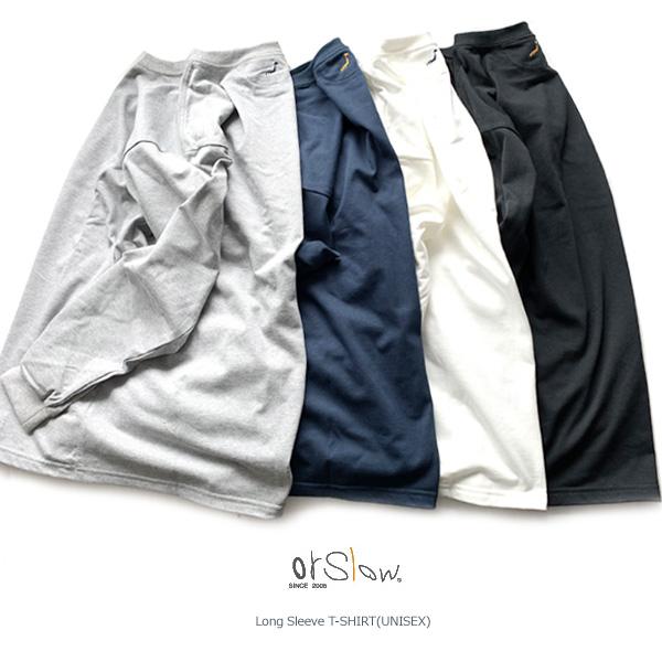 【2019秋冬|2019AW】orslow(オアスロウ)Long Sleeve T-SHIRT(UNISEX)【ネコポス便対応】【03-0013】