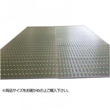 トーシン い草 ラグ 掛川織 十和田 グレー 191×191cm メーカ直送品  代引き不可/同梱不可