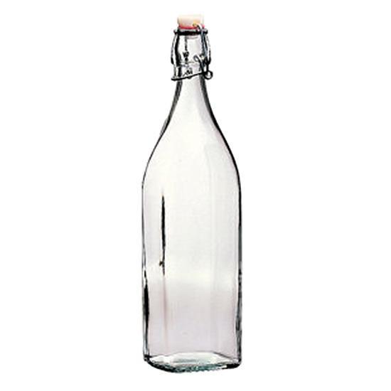 Bormioli Rocco(ボルミオリ ロッコ) SWING ボトル '3.14720 with white top 20個セット メーカ直送品  代引き不可/同梱不可