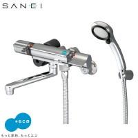 三栄水栓 SANEI サーモシャワー混合栓(レイニーメタリック付) 寒冷地 SK18121CTCK-13 代引き不可/同梱不可