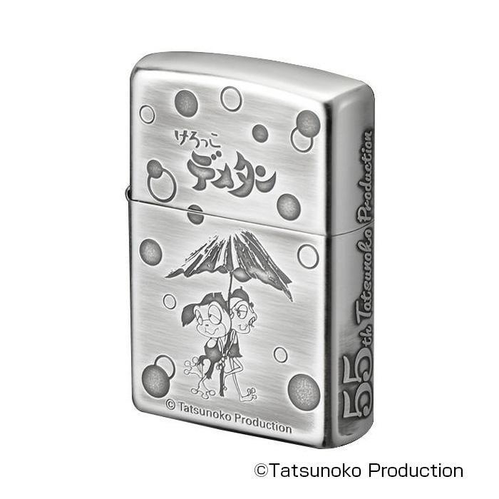 タツノコプロZIPPO けろっこデメタン 70252 メーカ直送品  代引き不可/同梱不可