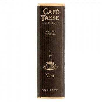 豊かなカカオの香りと濃厚でコクのある味わいです CAFE-TASSE カフェタッセ ビターチョコレート 代引き不可 新品未使用 メーカ直送品 45g×15個セット 同梱不可 倉庫