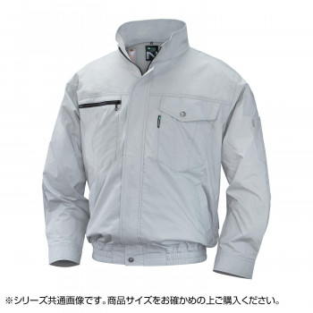NA-2011 Nクールウェア (服 L) シルバー 綿 タチエリ 8211871 メーカ直送品  代引き不可/同梱不可