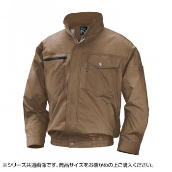 NA-2011 Nクールウェア (服 5L) キャメル 綿 タチエリ 8211896 メーカ直送品  代引き不可/同梱不可