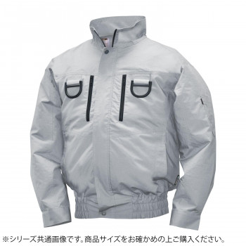 NA-2131 Nクールウェア フルハーネス (服 M) シルバー 綿 タチエリ 8211905 メーカ直送品  代引き不可/同梱不可