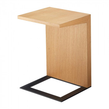 HOMEDAY リビングテーブル OAK(ホワイトオーク) LT-58-N メーカ直送品  代引き不可/同梱不可