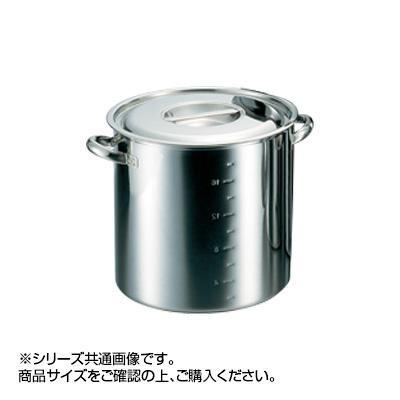 電磁モリブデン寸胴鍋 目盛付 27cm 019666-027 メーカ直送品  代引き不可/同梱不可