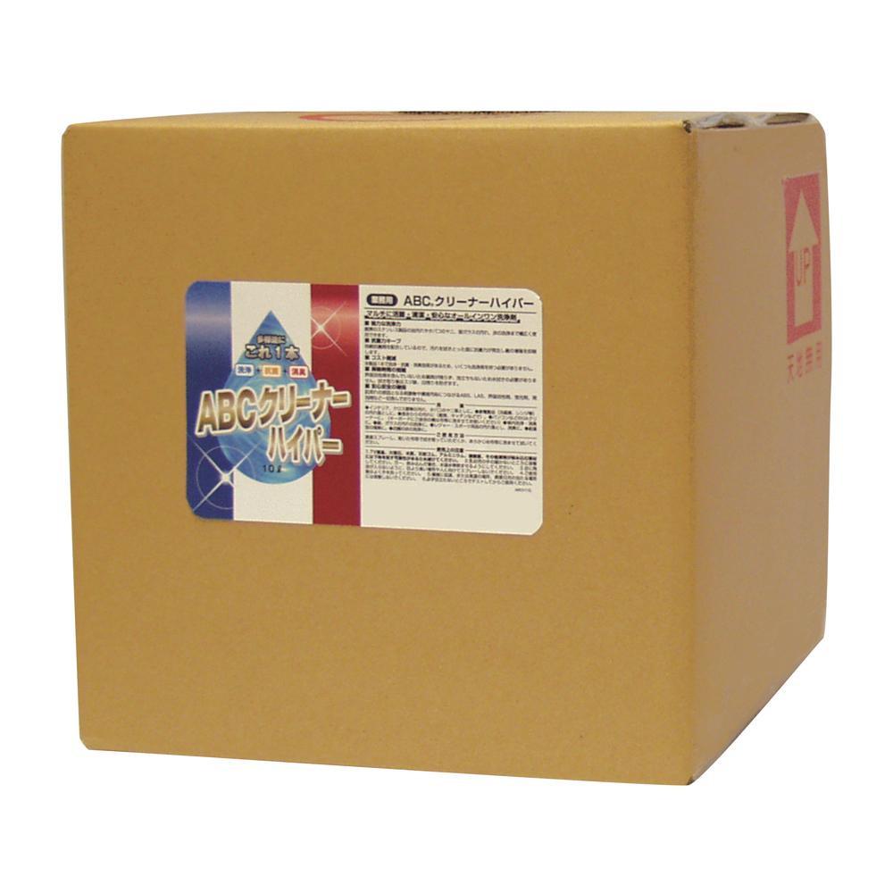 ABCクリーナーハイパー 洗浄剤 10L ABCH10L メーカ直送品  代引き不可/同梱不可