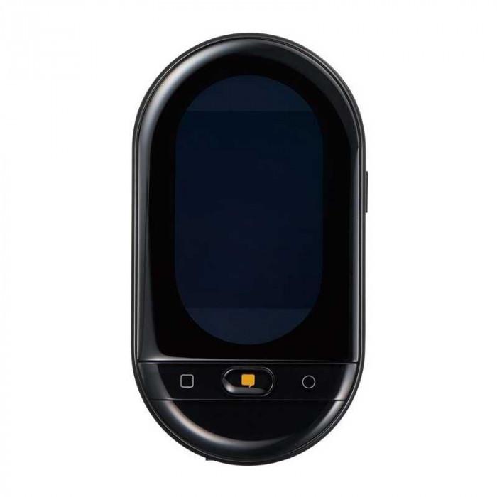 ポータブル翻訳機「ワールドスピーク」 国内専用SIM(2年間通信使い放題) HYP10-J48クロ メーカ直送品  代引き不可/同梱不可
