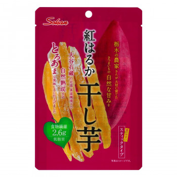 壮関 栃木県産紅はるか干し芋 45g×120袋 メーカ直送品  代引き不可/同梱不可