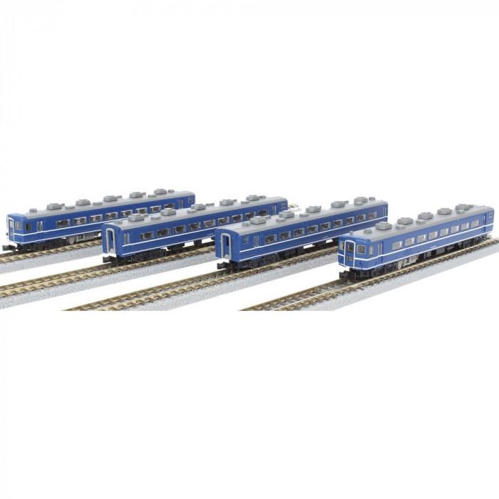 国鉄14系特急形客車 4両基本セット T006-1 メーカ直送品  代引き不可/同梱不可