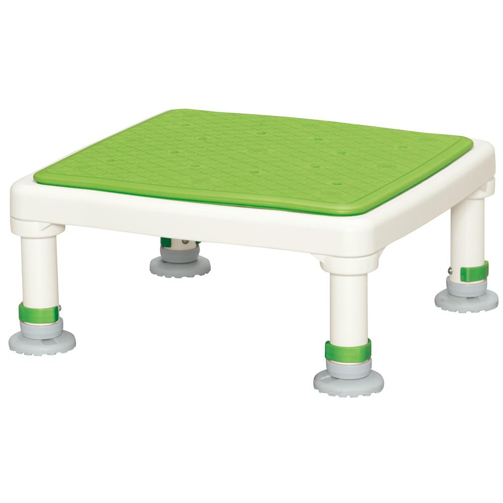 アルミ製浴槽台 あしぴたシリーズ ジャストソフト グリーン 15-25 メーカ直送品  代引き不可/同梱不可