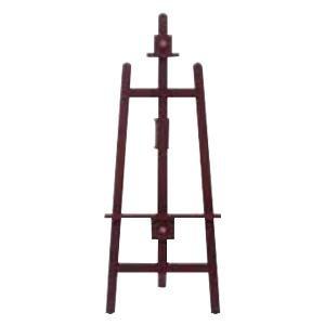 ARTE(アルテ) 木製イーゼル F マホガニ EA-H120 メーカ直送品  代引き不可/同梱不可