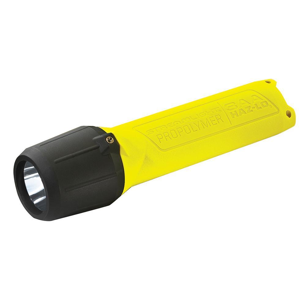 ストリームライト プロポリマー3AA LED HAZ-LO イエロー WSL68720 メーカ直送品  代引き不可/同梱不可