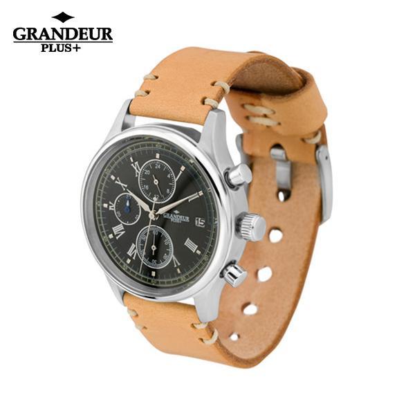GRANDEUR PLUS+ 腕時計 GRP012W2 代引き不可/同梱不可