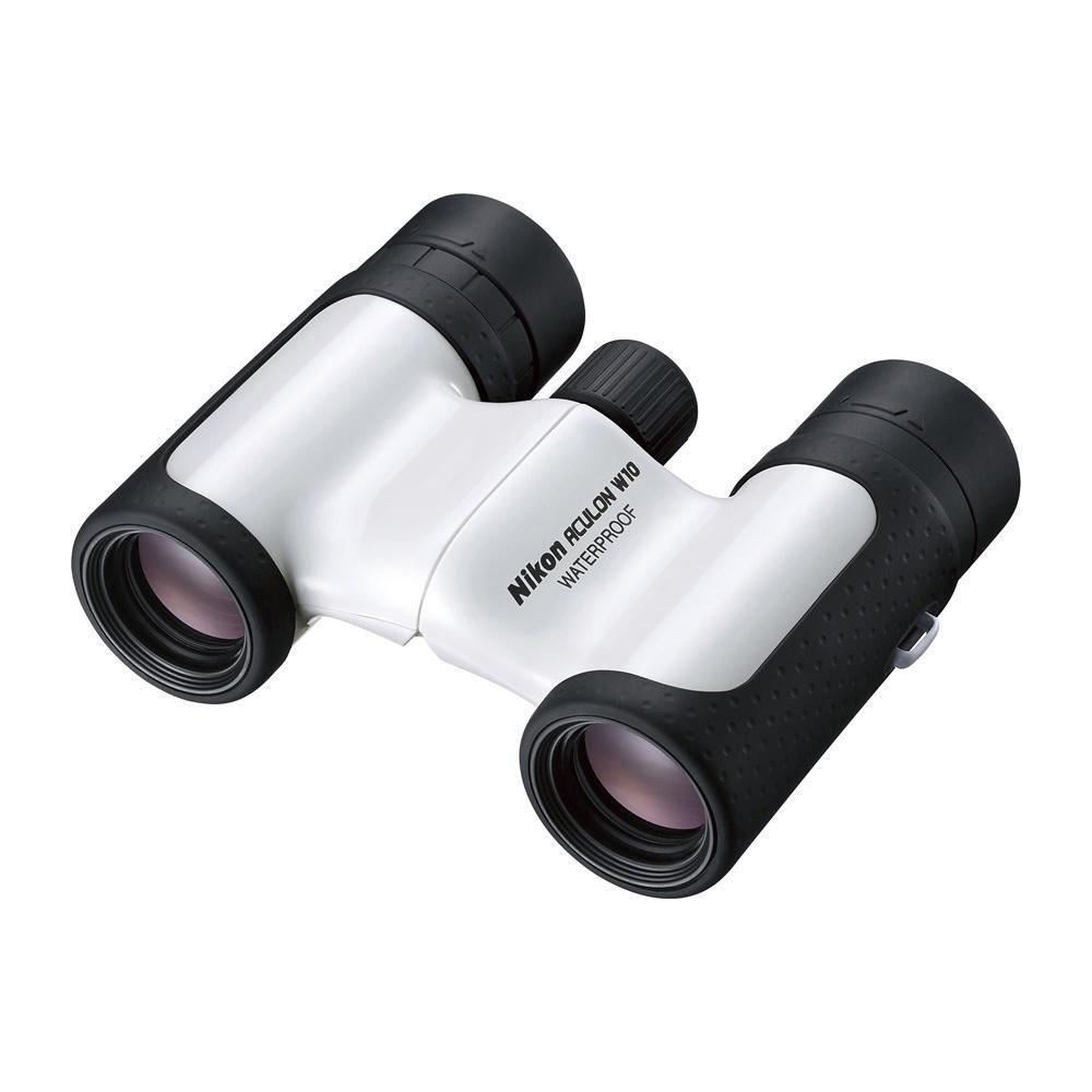 双眼鏡 BAA847WB アキュロン W10 10×21 ホワイト 071076 メーカ直送品  代引き不可/同梱不可