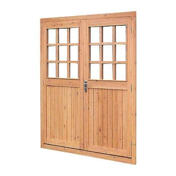 グラウンズマン用ドア 両開き 33725 メーカ直送品  代引き不可/同梱不可