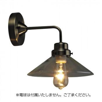 ブラケットライト バルゴ 透明P1・BK型BR (電球なし) GLF-3378X メーカ直送品  代引き不可/同梱不可