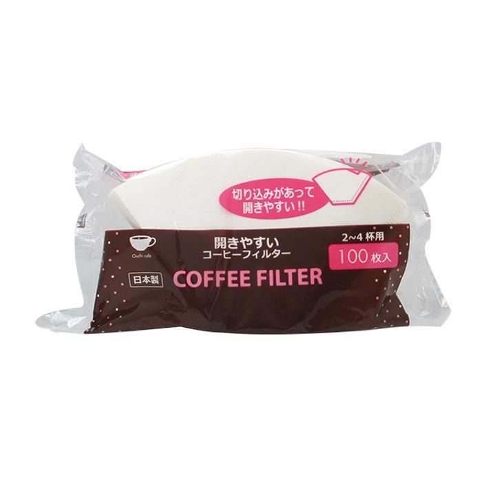 アートナップ おうちカフェコーヒーフィルター 白 100枚×100 OC-07 メーカ直送品  代引き不可/同梱不可