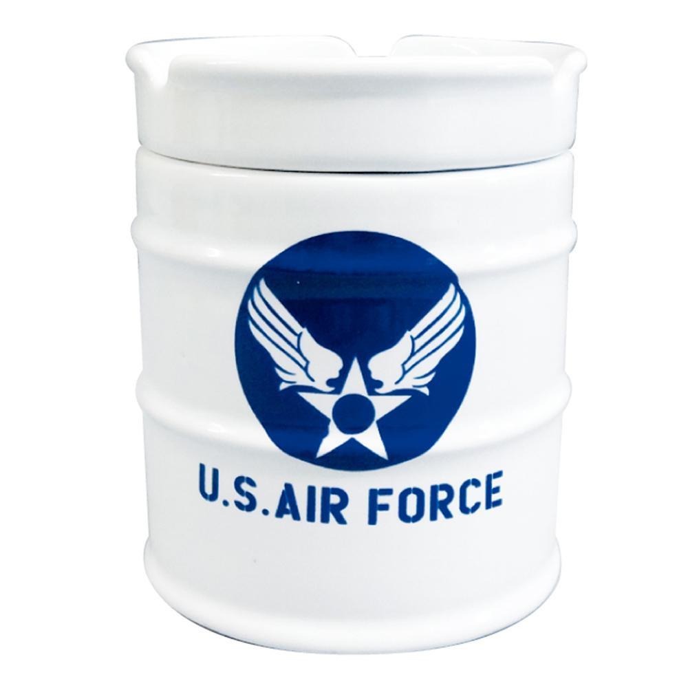NEWドラム缶灰皿 AIR FORCE AR-1426-1 メーカ直送品  代引き不可/同梱不可